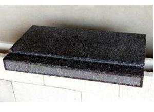 Davanzale graniglia nero