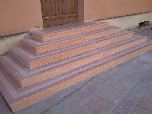 scale ingresso Municipio di Bagnolo in Piano